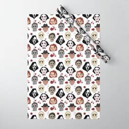Horror Villains  Wrapping Paper