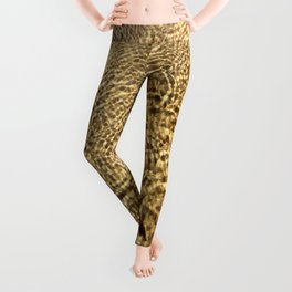 Gold Water Leggings