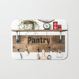 Pantry Shelf Bath Mat