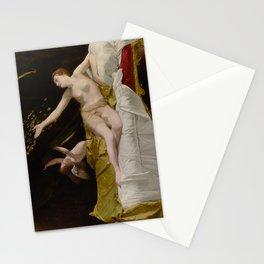 Danae by Orazio Gentileschi, 17th Century Stationery Cards