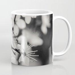 White Flowers Coffee Mug