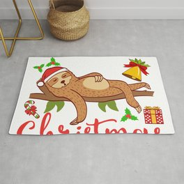 Wake Me Up When It's Christmas Design For December 25th T-shirt Design Jesus Birthday Carol Gift Rug