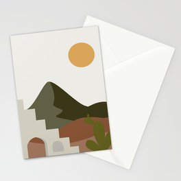 Abstract Landscape #2 Stationery Cards