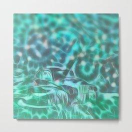Underwater wreck Metal Print