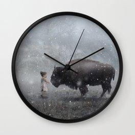 MeeTe Buffao Wall Clock