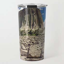 Rocky Path to Devils Tower Travel Mug