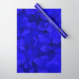 Rich Cobalt Blue Abstract Wrapping Paper