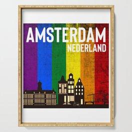 Rainbow Amsterdam Serving Tray