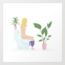 The Jumpsuit Life Art Print