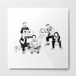 The neighbourhood: band Metal Print