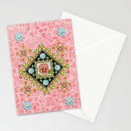 Pink Pansy Cottage Stationery Cards