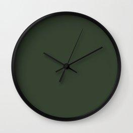 Simply Solid - Kombu Green Wall Clock