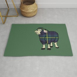 Modern Johnstone Sheep Rug