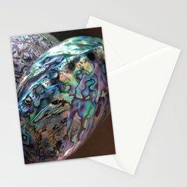 2 .paua shell Stationery Cards