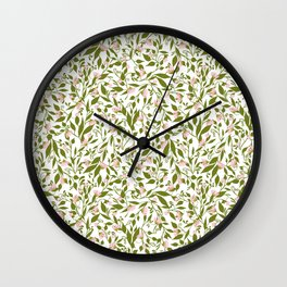 Spring Meadow Wall Clock