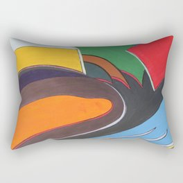 Art Deco Revival Rectangular Pillow