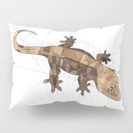 Crested Gecko Pillow Sham