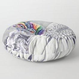 Rainbuzz Floor Pillow