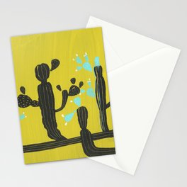 Blooming in the desert Stationery Cards