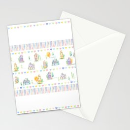 Little Houses: Chain of Hearts Stationery Cards