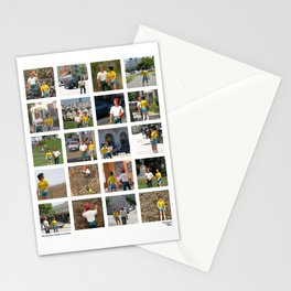 The Adventure People on Vacation Stationery Cards