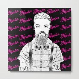 Ken Doll Hipster! Quirky Pop Art Design! Metal Print