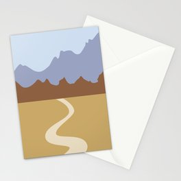 Abstract Landscape #10 Stationery Cards