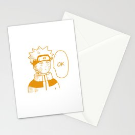 Hero Anime Ok Stationery Cards