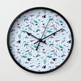 Ocean Animals Wall Clock