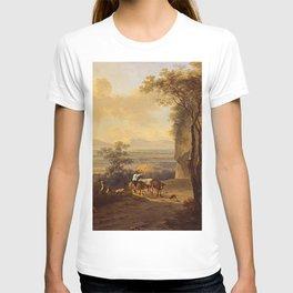 Italianate-landscape by Jan Both T-shirt