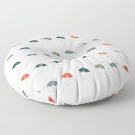 Take your umbrella ! It's raining! Floor Pillow