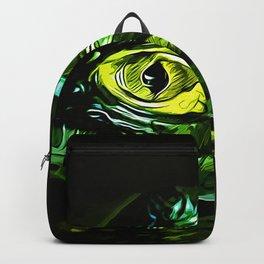 alligator baby eye va Backpack