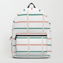 Minimal lines- vertical and horizontal Backpack