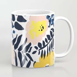 Outdoor: florals matching to design for a happy life Coffee Mug