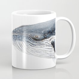 Humpback whale portrait Coffee Mug