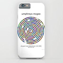 Umphrey's McGee All Good 2009 Poster iPhone Case