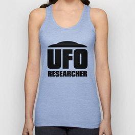 UFO RESEARCHER Unisex Tank Top