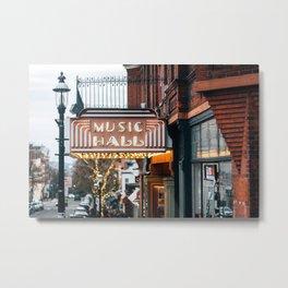 Music Hall, Tarrytown 02 Metal Print
