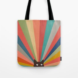 Cat Landscape 48 Tote Bag