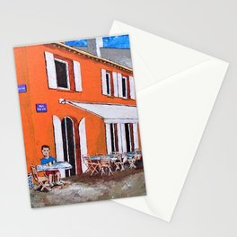 Little Cafe In Provence Stationery Cards