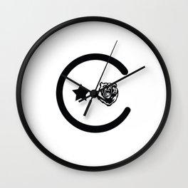 California Icons Wall Clock