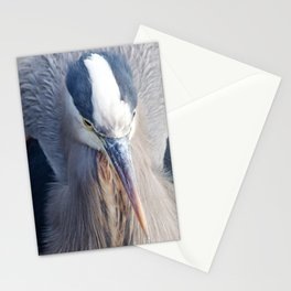 Alert Heron2 Stationery Cards