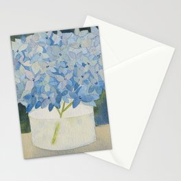 Hydrangea Sill Life Stationery Cards