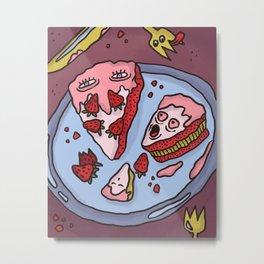 Cake Love Metal Print