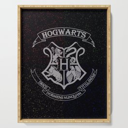 Cosmic Wizard School House Crest HP Serving Tray