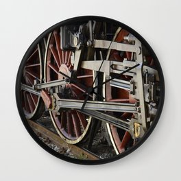 Iron Horse / Pistola, Italy Wall Clock