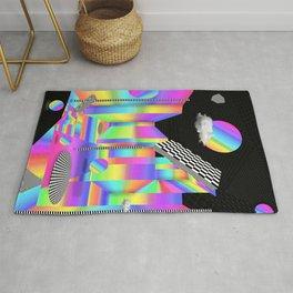 rainbow prespective Rug