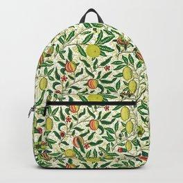 William Morris Exotic Fruit, Lemons and Pomegranates Backpack