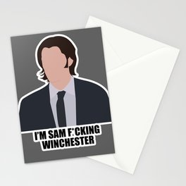 Sam F*cking Winchester Stationery Cards