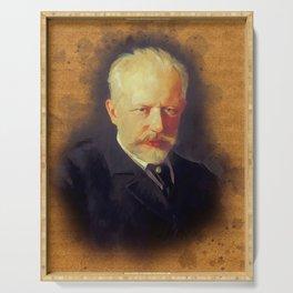Pyotr Ilyich Tchaikovsky, Music Legend Serving Tray